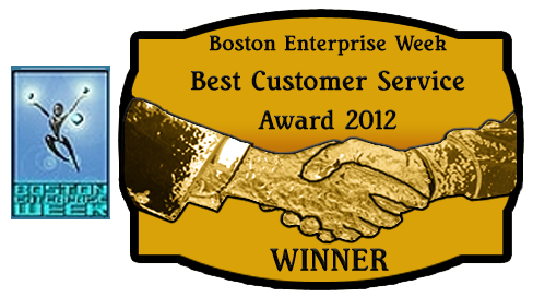 Taylored Security won the Best Customer Service award in 2012
